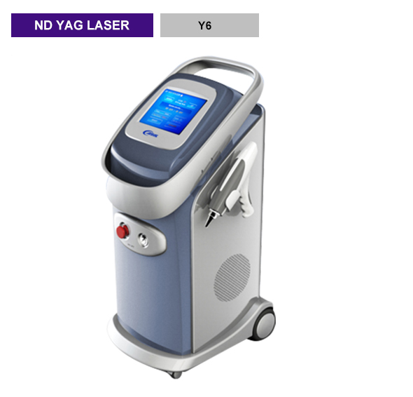 Powerful Q-switch nd yag laser tattoo removal machine Y6