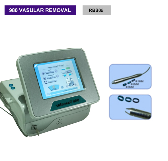 Diode laser 980nm vascular remover vein remover face lift skin tightening machinel device RBS05