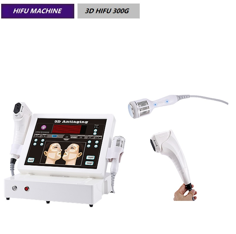 3D hifu + freezing for beauty salon and clinic wrinkle lifting removal machine 3D HIFU 300G