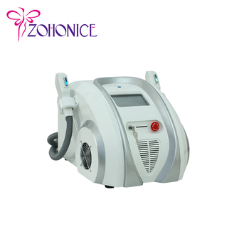 2 handles hair removal SHR / IPL SHR beauty machine E9A