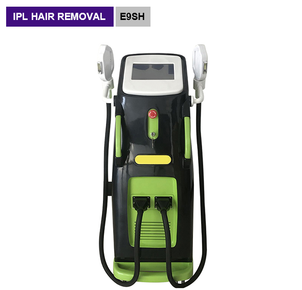 permanent IPL hair remvoal 2 handles 7 filters beauty machine E9SH