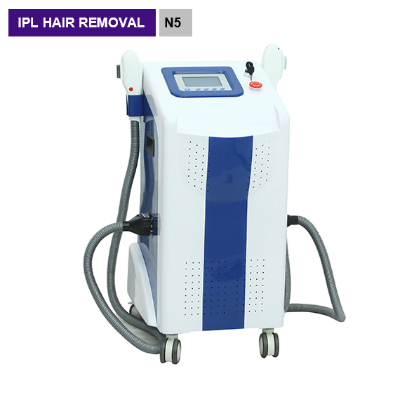 2 Hanlde IPL Hair Removal Machines For Age Pigment Removal N5