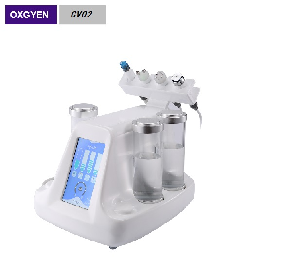 Facial Deep Cleaning  Water Oxygen Jet Peel  hydro Dermabrasion beauty machine CV02