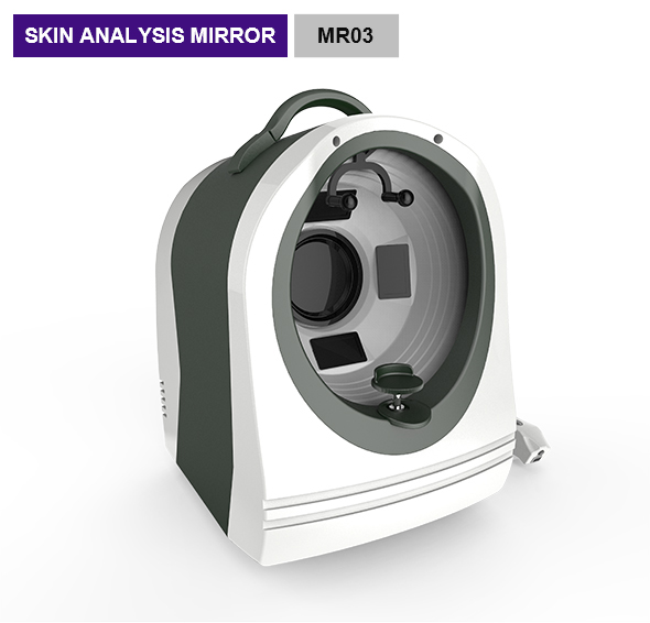 Vascular Areas 3d Magic Mirror System / Facial Skin Analyzer Beauty Machine MR03