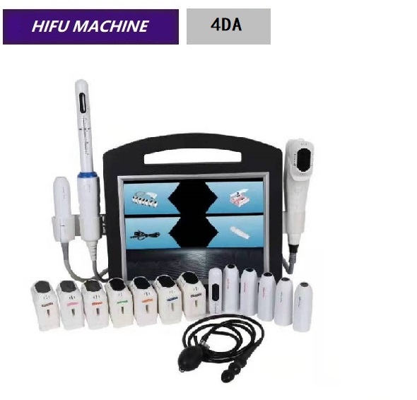 4D Hifu Beauty Machine 12 Lines Vaginal Tightening Portable Hifu Machine 4DA