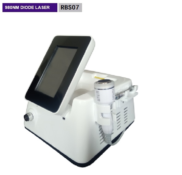 980NM Skin Rejuvenation Machine 30 - 300ms Pulse Width 1 Year Warranty RBS07