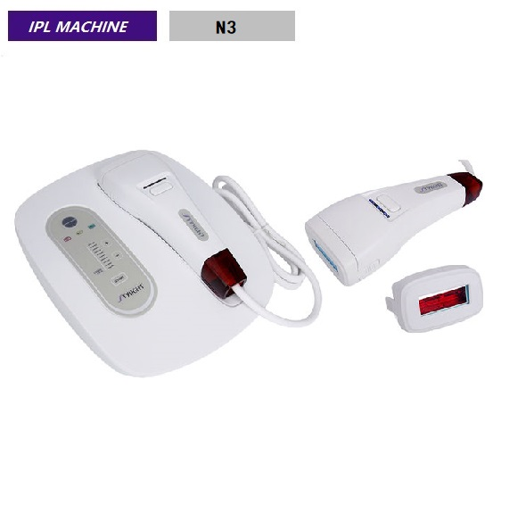 Professional 2 In 1 Permanent IPL Hair Removal Machines Non Invasive 2 Treatment Heads N3