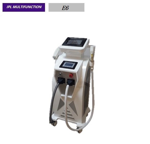 1000MJ Elight  Hair Removal Machine Wind + Water + Semi + Conductor Cooling System  E6