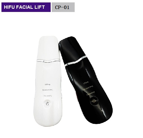 Ultrasonic Face Pore Cleaner Ultrasound Therapy Facial Massager Face Lift Machine Skin Scrubber